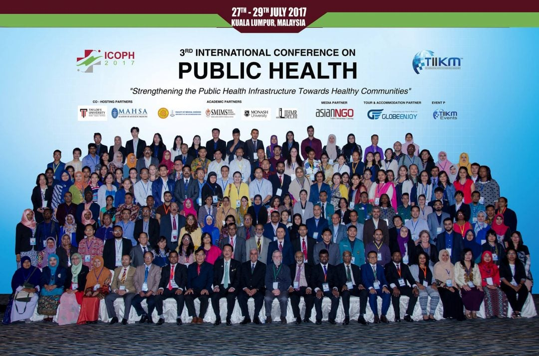 ICOPH 2017: The 3rd International Conference on Public