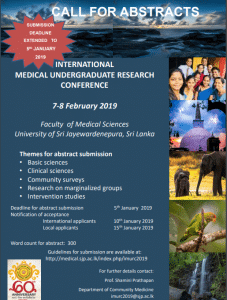 International Medical Undergraduate Research Conference